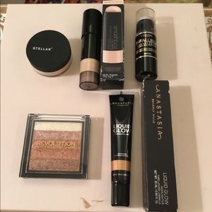 BUNDLE 5 Pieces Lot Highlighter ANASTASIA SMASHBOX